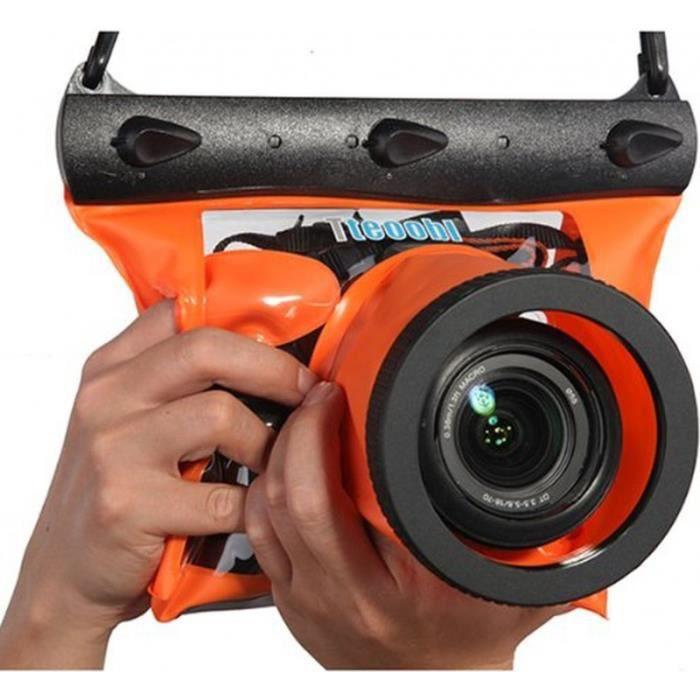 sacoche tanche orange tteoobl pour appareils p achat. Black Bedroom Furniture Sets. Home Design Ideas