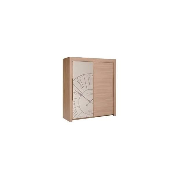 Times armoire 2 portes coulissantes taille 203 x 178 x - Taille porte coulissante ...
