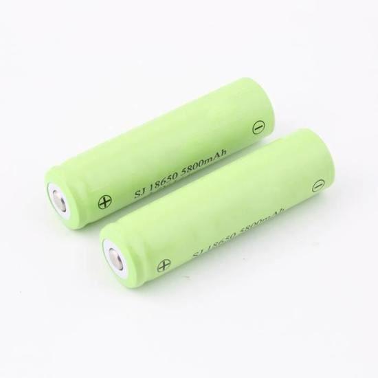 li ion batterie rechargeable pile 18650 li ion pour lampe. Black Bedroom Furniture Sets. Home Design Ideas