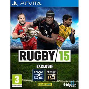 JEU PS VITA Rugby 15 Jeu PS Vita