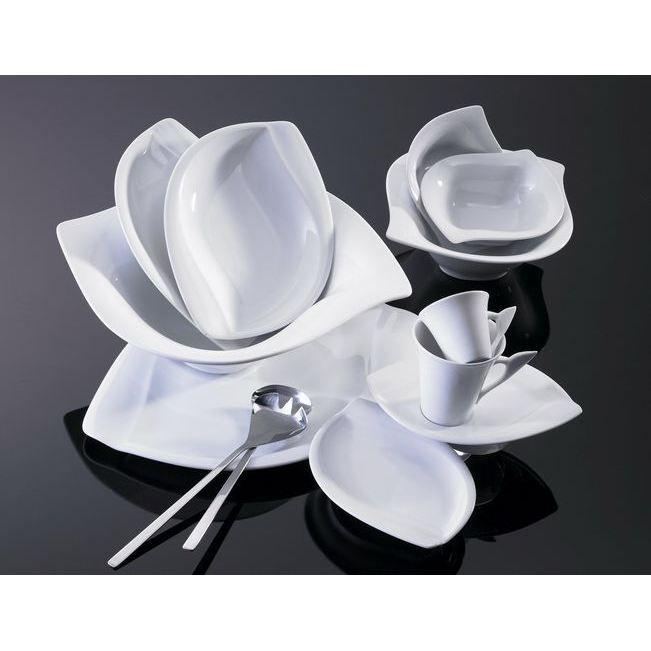 Paire tasse caf 39 acacia 39 x6 achat vente service for Vaisselle de table pas cher
