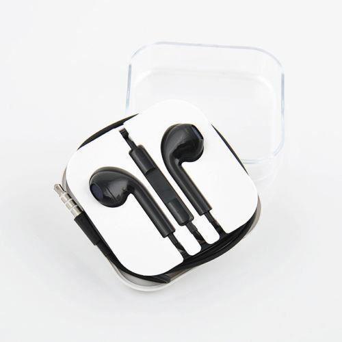couteurs de remplacement pour iphone 5 noir casque. Black Bedroom Furniture Sets. Home Design Ideas