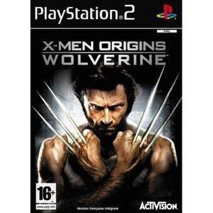 X MEN ORIGINS WOLVERINE / Jeu console PS2