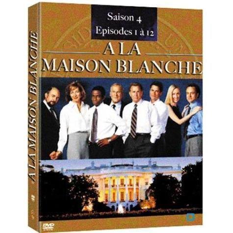 Dvd a la maison blanche saison 4 partie 1 en dvd s rie for A la maison blanche saison 6
