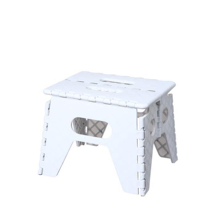 marche pied pliant blanc achat vente marchepied marche pied pliant cdiscount. Black Bedroom Furniture Sets. Home Design Ideas