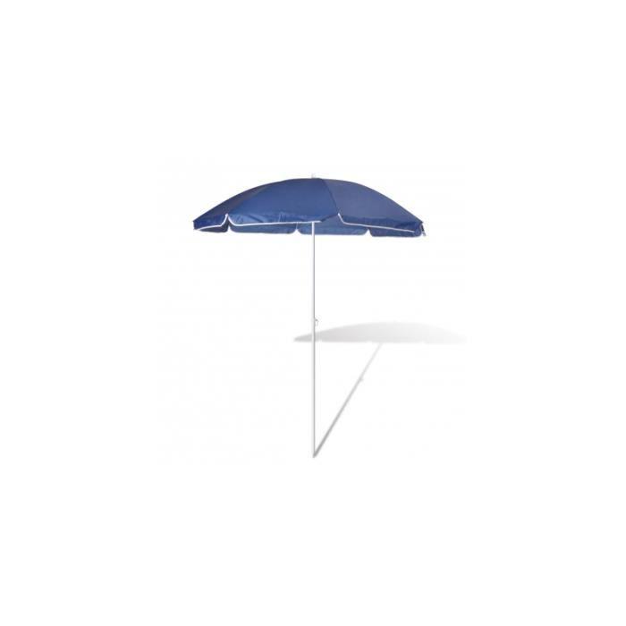 180cm parasol de plage bleu achat vente store store. Black Bedroom Furniture Sets. Home Design Ideas