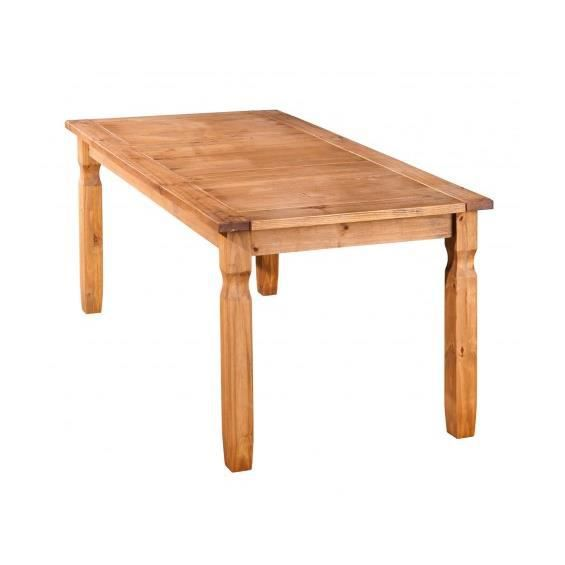 Cancun table 180x90 cm achat vente table a manger for Sejour complet cancun