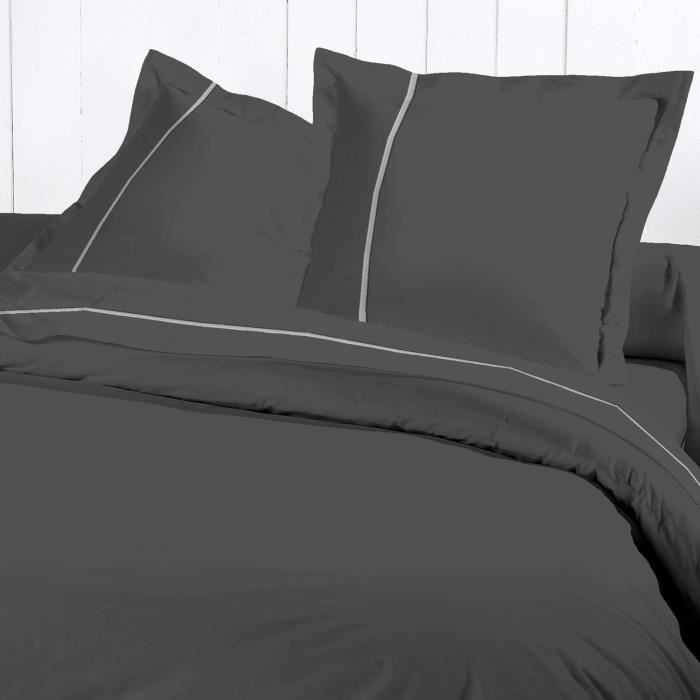 David olivier housse couette 220x240 percale g ant achat vente housse de couette cdiscount - Housse de couette percale 220x240 ...