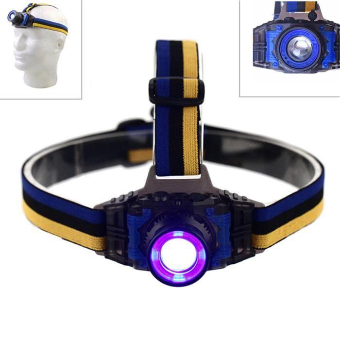 getek 500lm lumi re du projecteur rechargeable avec batterie violet lumi re achat vente. Black Bedroom Furniture Sets. Home Design Ideas