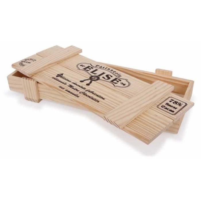 bo te pour patisserie en bois elise achat vente marchande cdiscount. Black Bedroom Furniture Sets. Home Design Ideas