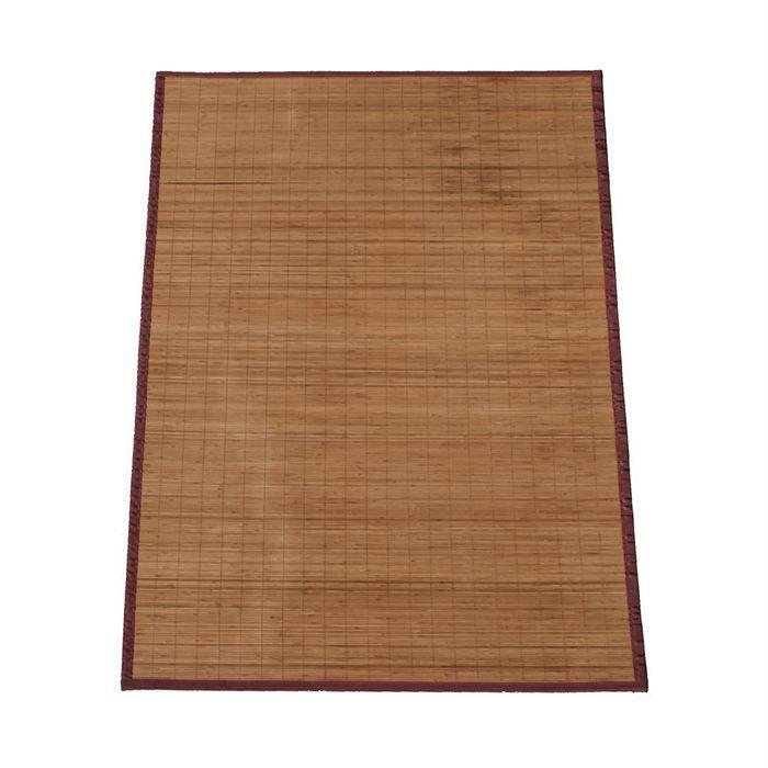 Grand tapis bambou