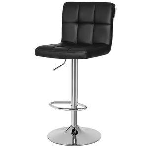 Chaise haute de bar achat vente chaise haute de bar for Chaise bar avec dossier