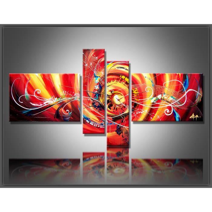 Tableau moderne imprim 160 x 80 cm abstrait achat vente tableau toil - Tableau moderne discount ...