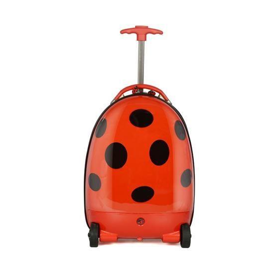 Trolley valise porte bagage pour enfant usage manuel et for Porte valise pour chambre