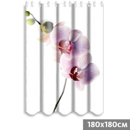 Rideau de douche orchidee 180x180 cm polyester achat vente rideau de douche cdiscount - Rideau de douche 180x180 ...