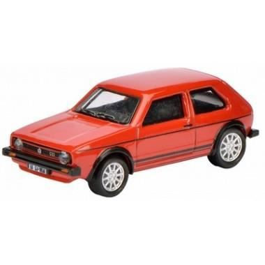 miniature vw golf i gti rouge noir achat vente voiture camion cdiscount. Black Bedroom Furniture Sets. Home Design Ideas