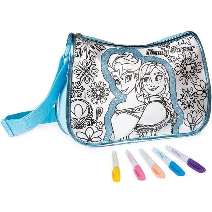 la reine des neiges color me mine maxi sac tendance sac colorier achat vente kit de. Black Bedroom Furniture Sets. Home Design Ideas