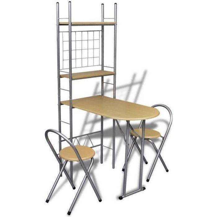 Tables de cuisine pliantes table et chaise pliante pas - Chaise de bar pas cher ikea ...