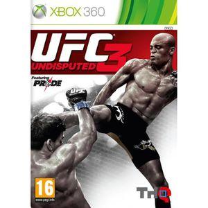 JEUX XBOX 360 UFC UNDISPUTED 3 / Jeu console XBOX 360