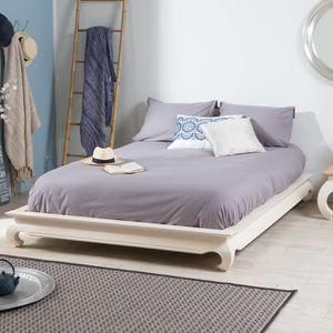 lit de pour deux personne achat vente lit de pour deux personne pas cher cdiscount. Black Bedroom Furniture Sets. Home Design Ideas