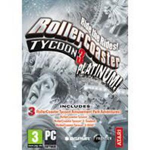 JEUX À TÉLÉCHARGER RollerCoaster Tycoon 3 Platinum