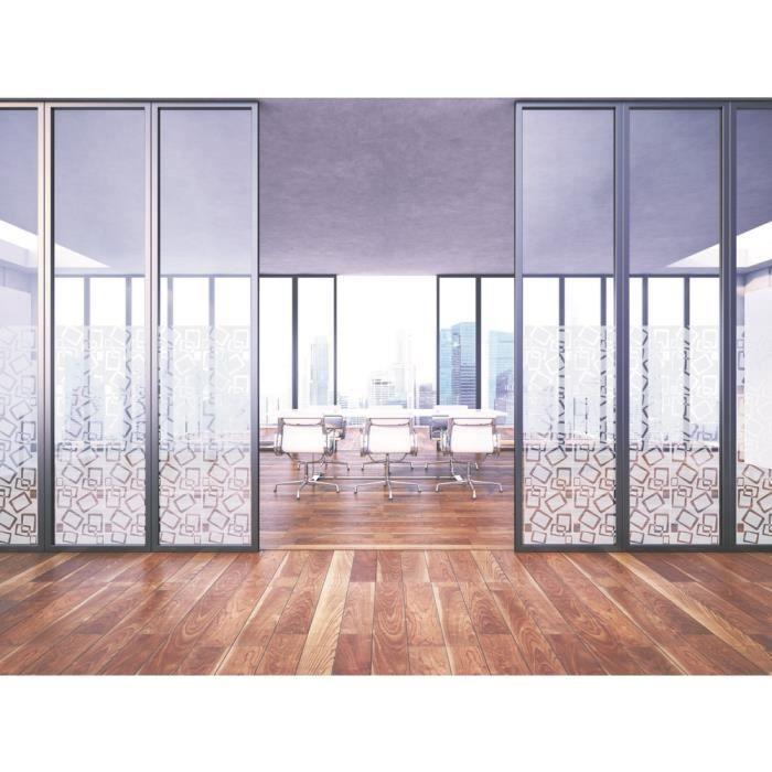 film vitrage decoratif design vitrage carr s vintage rouleau de 122 cm x 200 cm achat. Black Bedroom Furniture Sets. Home Design Ideas