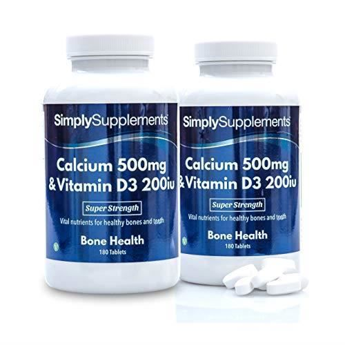 Calcium 500mg & Vitamine D3 200iu   360 comprimés - Achat
