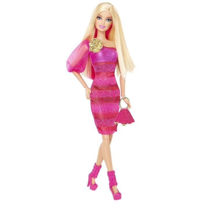POUPÉE Barbie Fashionista - Rose