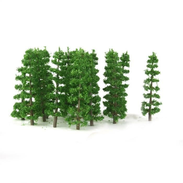 20pcs 1 100 maquette sapins plastique paysage landscape d 39 entra nement vert achat vente. Black Bedroom Furniture Sets. Home Design Ideas