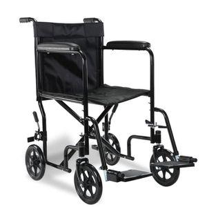 fauteuil roulant pliable achat vente fauteuil roulant pliable pas cher cdiscount
