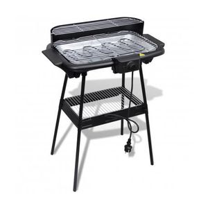 BARBECUE Barbecue Electrique Grille Rectangulaire pour Jard