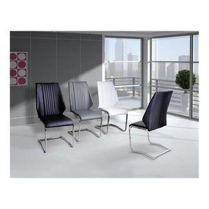 CHAISE Chaises design Wank blanc   par 2