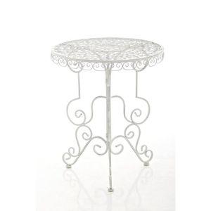 Table de jardin fer forge achat vente table de jardin - Table de jardin en fer forge pas cher ...