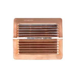 grille ventilation cuivre clipser in out re achat vente vmc accessoires vmc grille. Black Bedroom Furniture Sets. Home Design Ideas