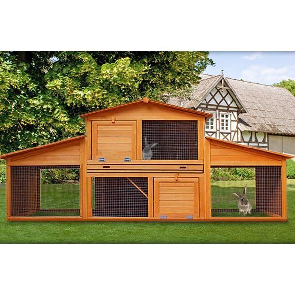 maison cage bois rongeurs poules clapier achat vente clapier maison cage bois rongeurs p. Black Bedroom Furniture Sets. Home Design Ideas
