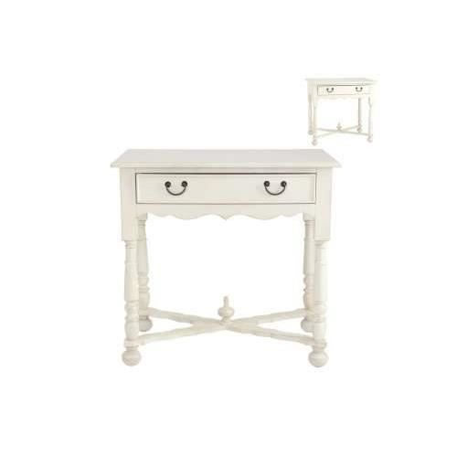 Console blanche 1 t vical home achat vente console console blanche 1 t vi - Meuble console blanche ...