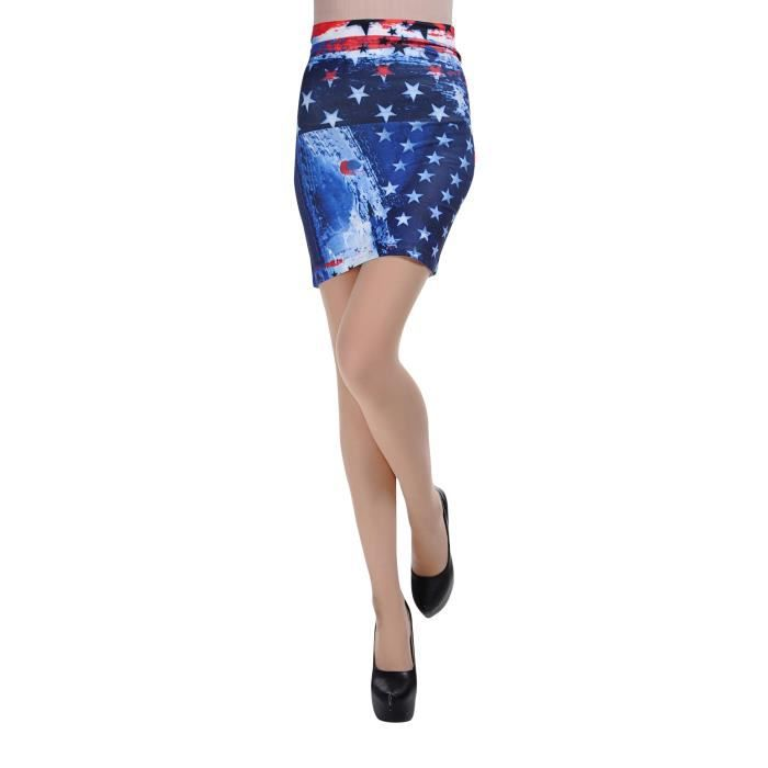Jupe courte style am ricain achat vente jupe 2009969055869 cdiscount - Boutique style americain ...