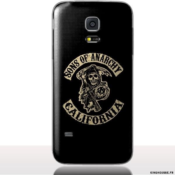 coque samsung s5 mini sons of anarchy achat coque. Black Bedroom Furniture Sets. Home Design Ideas
