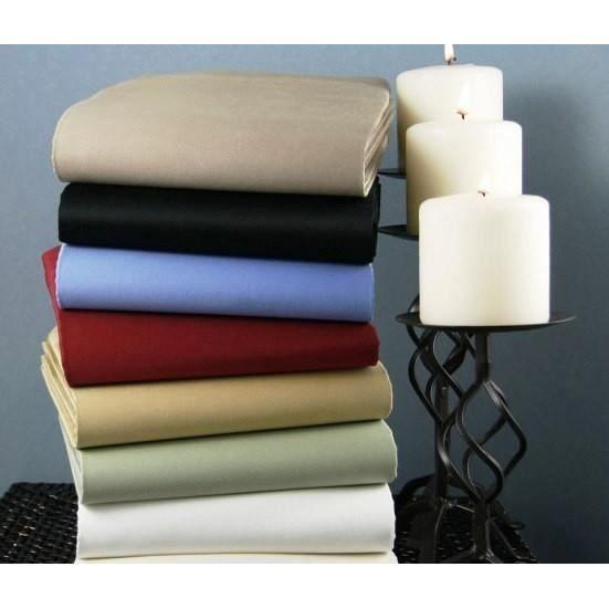 coton 57 fils coloris fonc s housse de couette 260x240. Black Bedroom Furniture Sets. Home Design Ideas