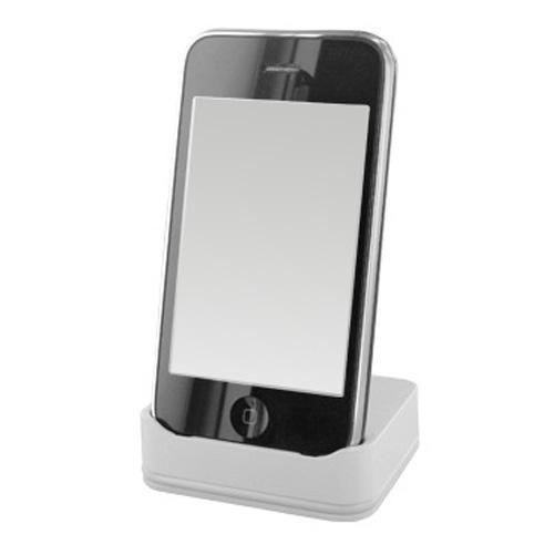 station accueil blanche pour apple iphone 3g achat vente station d 39 accueil station accueil. Black Bedroom Furniture Sets. Home Design Ideas