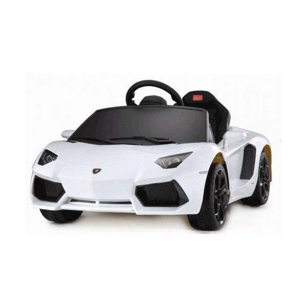 voiture lectrique lamborghini blanche lp700 4 achat vente voiture enfant cdiscount. Black Bedroom Furniture Sets. Home Design Ideas