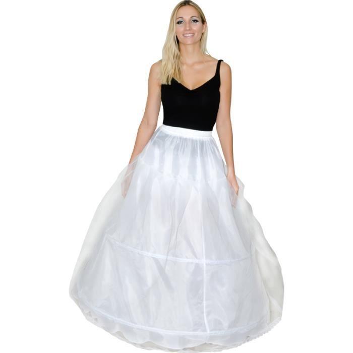 dguisement panoplie deguisement jupon femme 2m70 2 cerceaux - Jupon Mariage 2 Cerceaux
