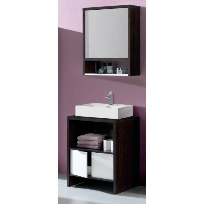Daphne salle de bain compl te avec vasque miroir achat for Meuble a miroir salle de bain