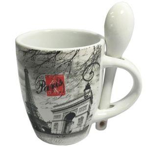 tasses a cafe et cuilleres achat vente tasses a cafe et cuilleres pas cher cdiscount. Black Bedroom Furniture Sets. Home Design Ideas