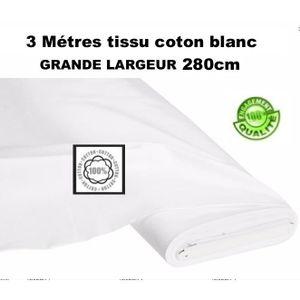 tissu au metre pour rideaux achat vente tissu au metre pour rideaux pas cher cdiscount. Black Bedroom Furniture Sets. Home Design Ideas