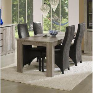 TABLE A MANGER SEULE Table de salle à manger TOM - Table : Avec table c