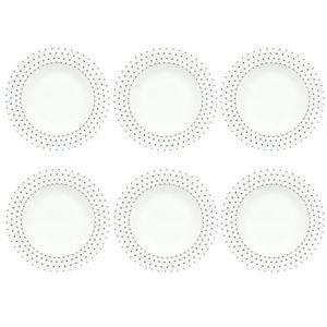 assiette noire et blanche achat vente assiette noire et blanche pas cher cdiscount. Black Bedroom Furniture Sets. Home Design Ideas