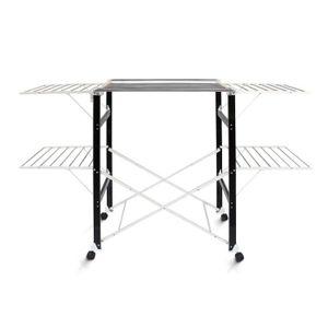 sechoir pliable achat vente sechoir pliable pas cher. Black Bedroom Furniture Sets. Home Design Ideas