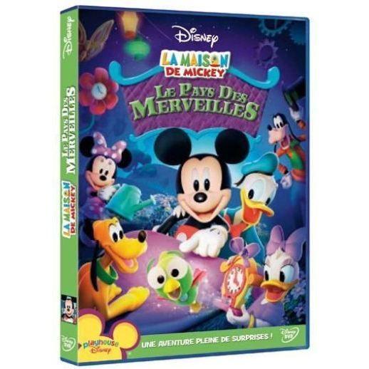 dvd la maison de mickey le pays des merveilles en dvd dessin anim 233 pas cher cdiscount