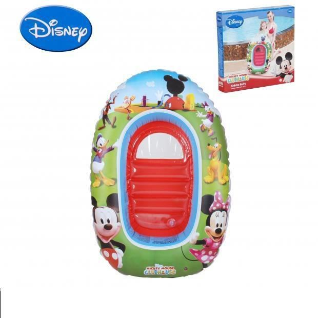 Bateau mickey gonflable bouee piscine 102x69cm multicolore 103 achat - Bateau gonflable mer ...